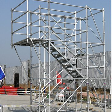 Access Ringlock Scaffold Tower