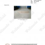 BS 2482 Wood Scaffold Board Test Report 5