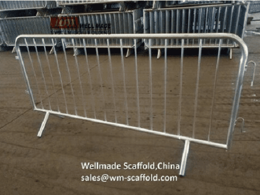 Crowd Control Barrier Fence