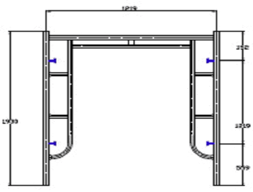 914 H Frame Scaffolding