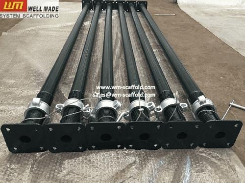 Formwork Middle Duty Adjustable Scaffolding Steel Props