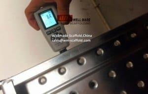 Pre-Galvanized Scaffold Plank Zinc Coat Thickness