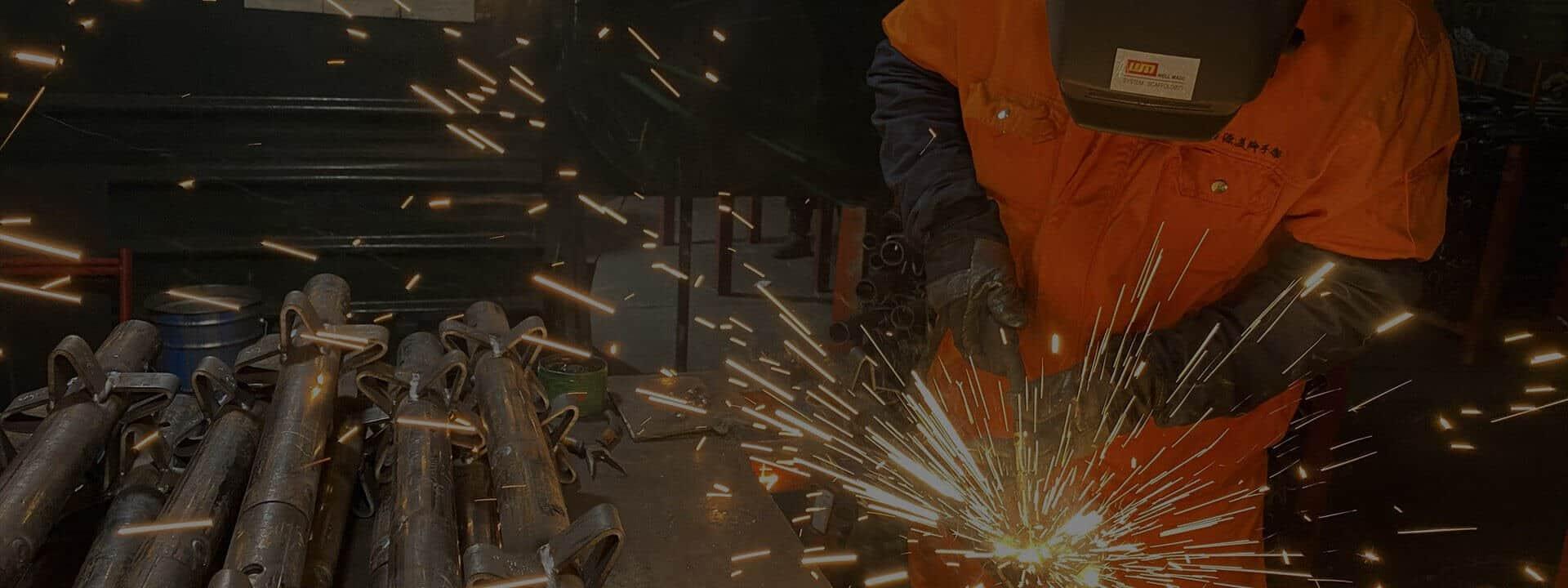 Wellmade Scaffolding Welding Process