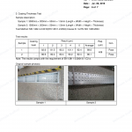 metal Scaffold Board Test Report