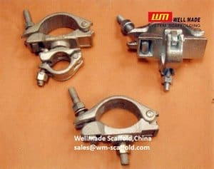 89mm Durable I Bolt Scaffold Clamp for Sidewalk NYC -Wellmade China