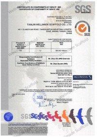 Wellmade Scaffold CE Certificate