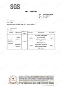 Multidirectional Scaffolding EN 12810 Standard Test Report