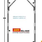 italian H Frame Scaffolding Arch Type