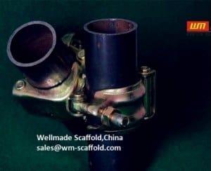 JIS Swivel Clamp O.D48.6mm Wellmade Pipe Fittings Pressed Steel Type