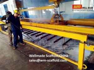 Scaffolding Equipment Galvanizing in Wellmade Scaffold China
