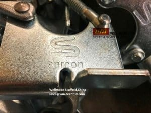 Scaffolding Clamp OEM Logo Marks in Wellmade China