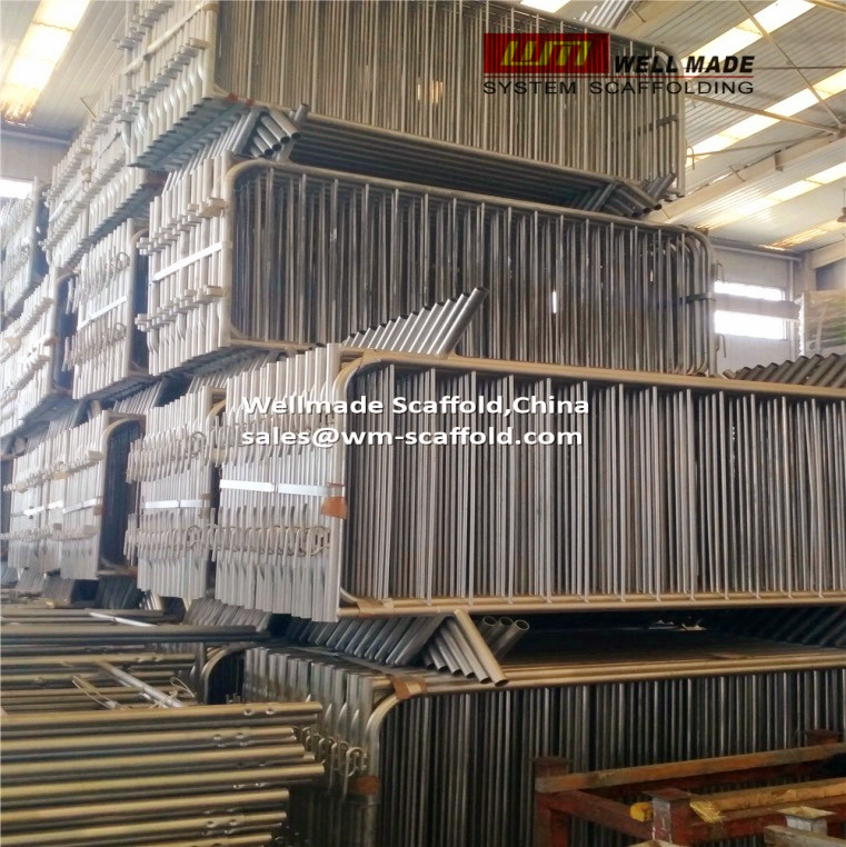 crowd control barrier fencing barricades manufacturer