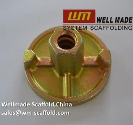 Formwork Accessories 3 Wings Wing Nut