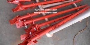 Push Pull Props Steel Acrow Formwork Support 3
