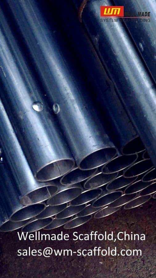 pipe scaffolding with rivet to Japan jis standard gi pipe tube