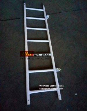 steel scaffolding ladder