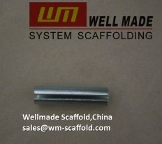 Scaffolding frame roll pin