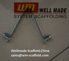 Scaffolding Spring clips