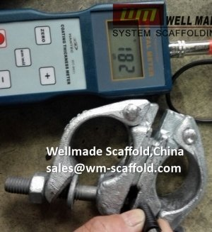 Hot dip galvanized Scaffolding Swivel Coupler Forged