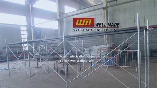 Scaffold Board on Frame System