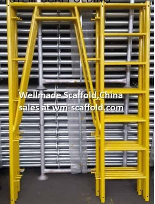 Scaffolding Frame to The USA American Type System Scaffold