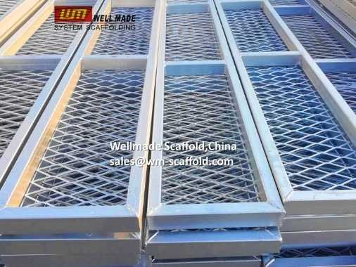 Steel Scaffold Boards Grating Plank for Shipbuilding Construction