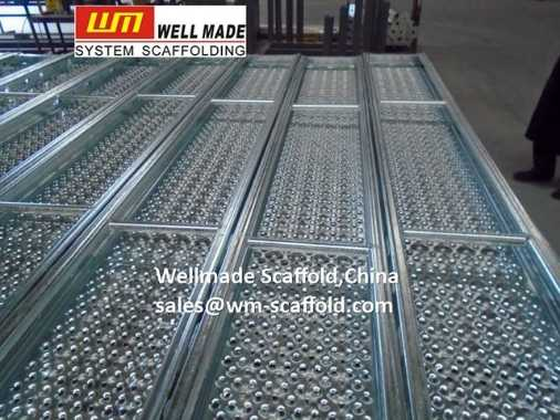 Steel Scaffold Board 320mm for Layher All Round System Scaffold Ringlock