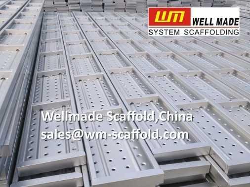Steel Scaffold Board without Hooks 250mm