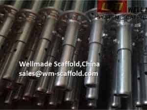 Scaffolding Coupling Spigot For Ringlock Scaffold System