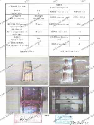 EN 12810 Scaffold Boards Test Report 2