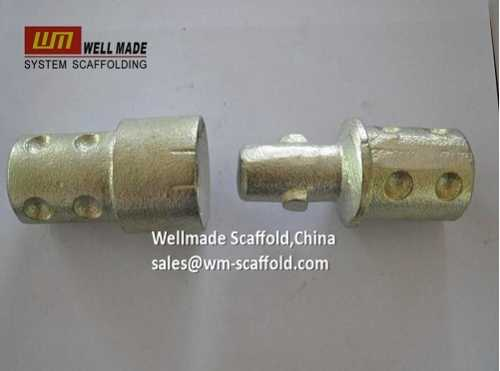 Male and Female Fittings for Tube Lock Scaffol