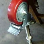 Adjustable Scaffold Caster Wheel Rubber Type