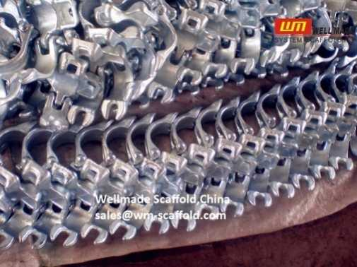 Double Coupler Scaffolding Tube Clamps Pipe Coupler Welllmade