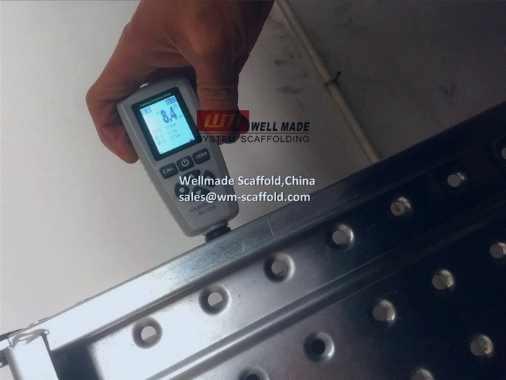Steel Scaffold Board Pre-Galvanized Zinc Thicknes