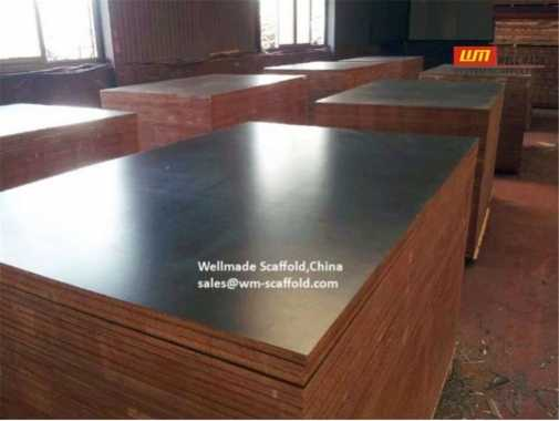 Film Faced Plywood Formwork Shuttering