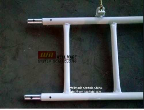 steel scaffolding ladder for frame
