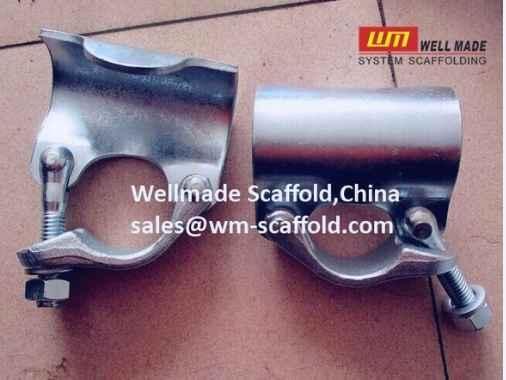 Putlog coupler single coupler scaffolding tube clamp parts