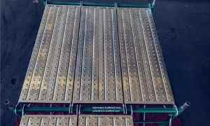 Scaffold Boards Mock-up Inspection