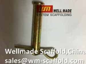 scaffold cotter pins lock