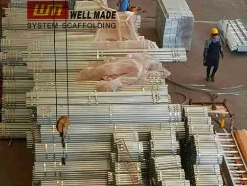 All Sizes and Specifications of BS 1139 Scaffolding Tube