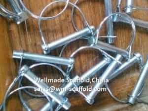 scaffolding span clip pins
