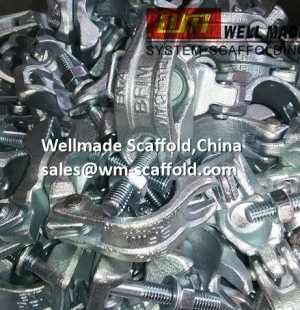 Forged Scaffold Double Coupler Manufactured In Wellmade