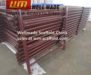 shore frame scaffold 1