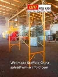 snap on scaffolding apartment frame for stucco and plaster scaffold construction