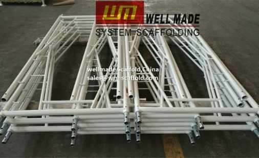 snap on scaffolding stucco plaster scaffold frame 3