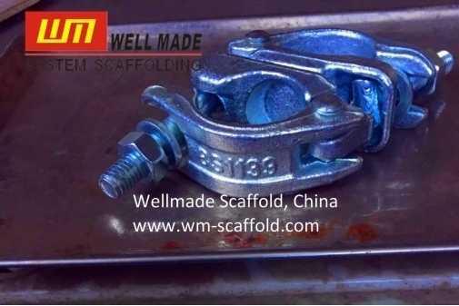 British Type Swivel Coupler Scaffolding