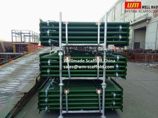 Acrow Prop Packed In Pallets