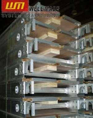 "19"" Aluminium Planks with Plywood Platform"