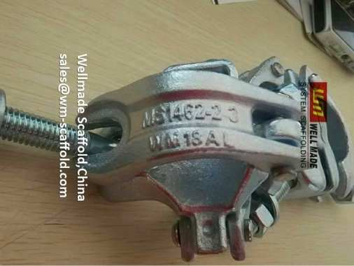 MS 1462 Double Coupler Scaffolding Fixed Clamp