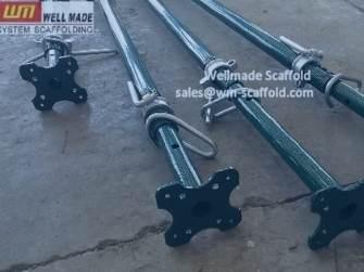 Adjustale Steel Prop Acrow Props Sizes